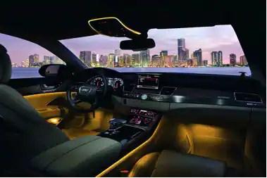 automotive interior lighting
