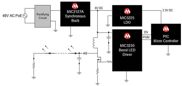 Wide Band Analog Time Delay Circuit Schematic