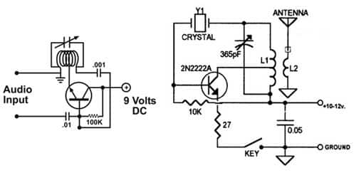 the am transmitter circuits