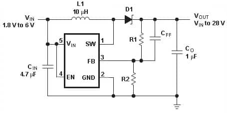 searching for a DC-DC step-up module with constant offset