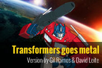Transformers – Arrival to earth goes metal