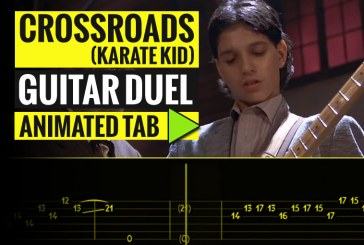 Steve Vai – Crossroads – Guitar Duel – Animated Tab