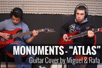 Monuments – Atlas [Cover] by Miguel Costa & Rafa Almeida