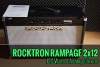 Rocktron Rampage R122C – Amplificador de guitarra 2×12 – Analog Chorus