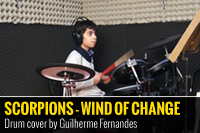 SCORPIONS – WIND OF CHANGE – COVER POR GUILHERME FERNANDES