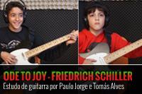 HINO D´ALEGRIA – ESTUDO DE GUITARRA – PAULO JORGE E TOMÁS ALVES