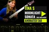 LUDWIG VAN BEETHOVEN – MOONLIGHT SONATA – 3RD MOVEMENT – TINA S Cover – Animated Tab