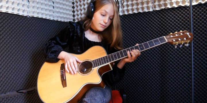 MY HEART WILL GO ON – Estudo de Guitarra por Anastacia Sidorov