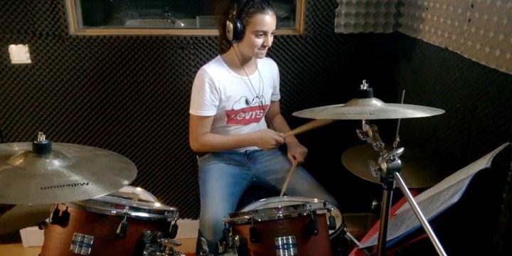 AUDIOSLAVE – LIKE A STONE – Cover de bateria por Francisca Relvas