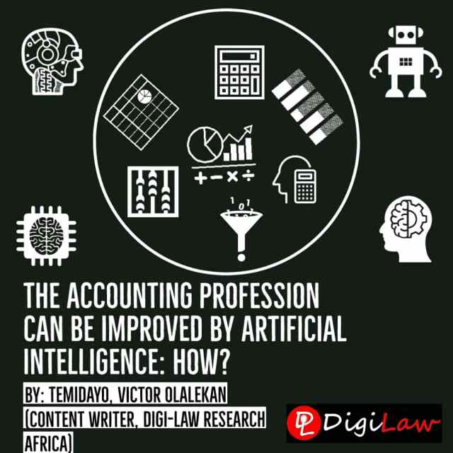 The Accounting Profession can be Improved by artificial intelligence AI