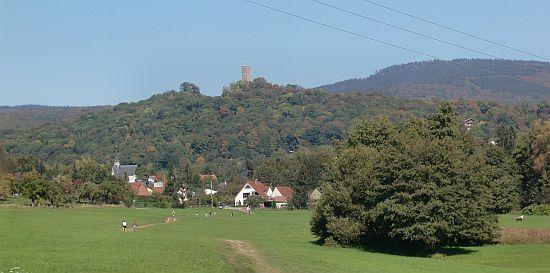 Blick durchs Liederbachtal nach Königstein