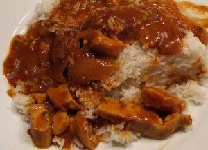 """Es ist angerichtet: Chicken Tikka Masala von """"asian taste"""""""