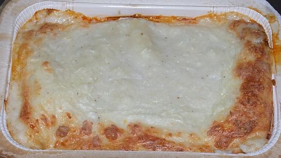 Foto: Fertige Lasagne Bolognese von Frosta