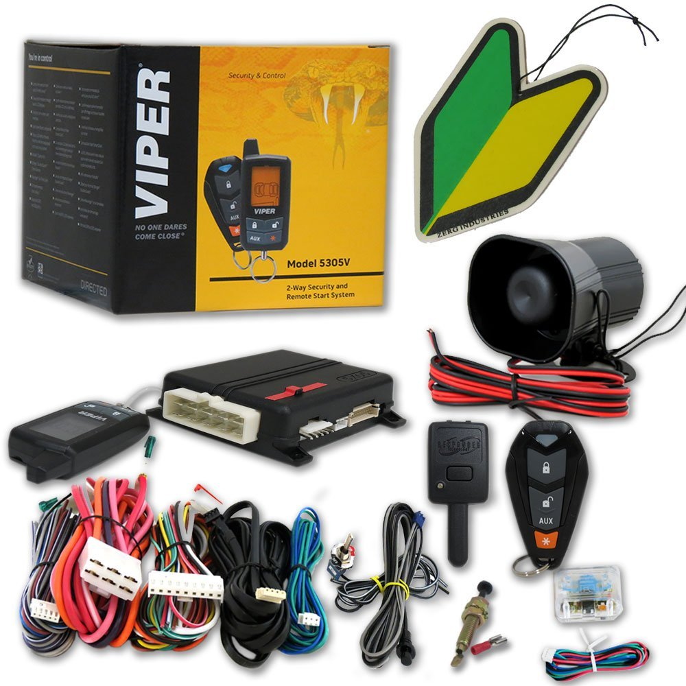 viper 5305v car alarm water cycle diagram worksheet for kids responder 2 way security system with keyless entry the is remote sleek and compact to hold there are dedicated esp2 d2d ports