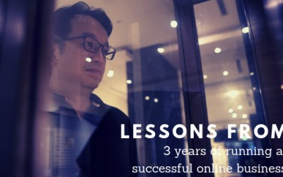 """""""Competition Is Good"""" & other odd lessons from 3 years of running an online business"""