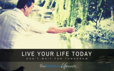 How to start living YOUR life today