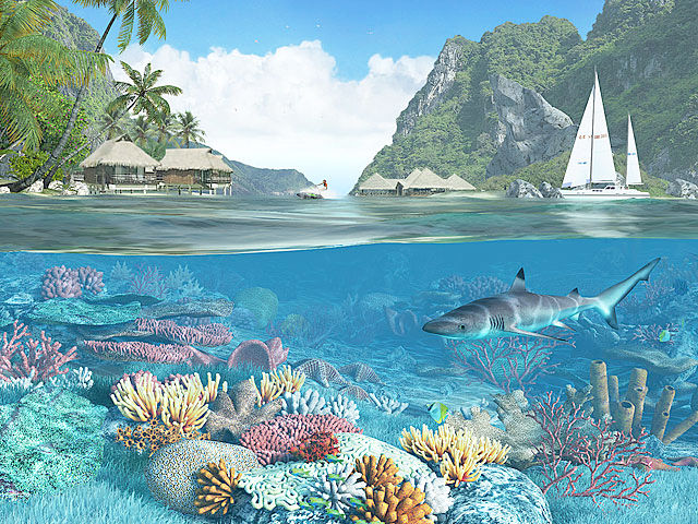 3d Animated Wallpapers And Screensavers Caribbean Islands 3d Screensaver Download Animated 3d