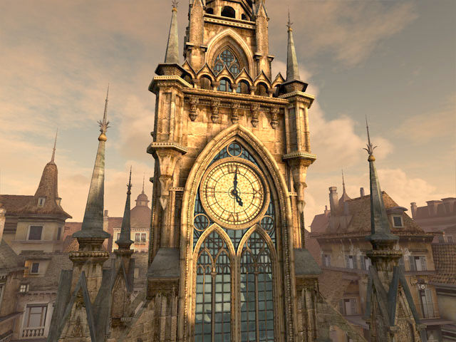 Download 3d Video Wallpaper For Pc Clock Tower 3d Screensaver Download Animated 3d Screensaver