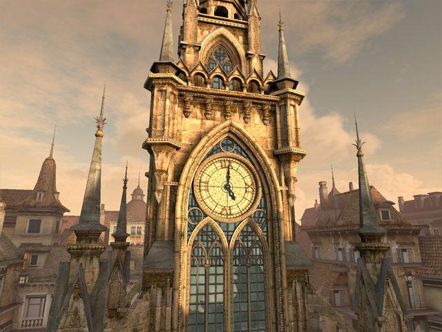 Free Animated Fall Desktop Wallpaper Clock Tower 3d Screensaver Download Animated 3d Screensaver