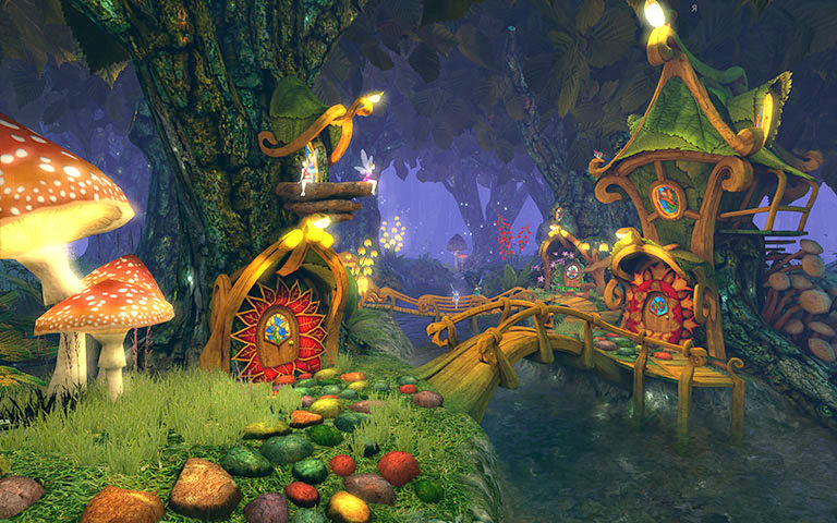 3d Fish Wallpaper Live Fairy Forest 3d Gallery Image 1 Of 3