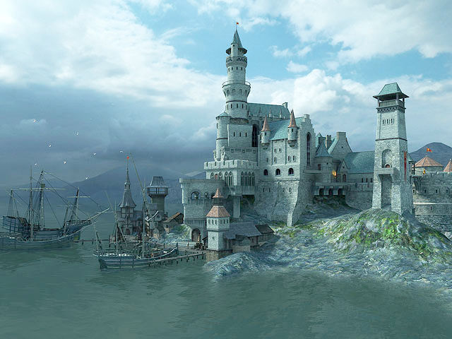Hd Fish Live Wallpaper For Pc Medieval Castle 3d Screensaver Download Animated 3d