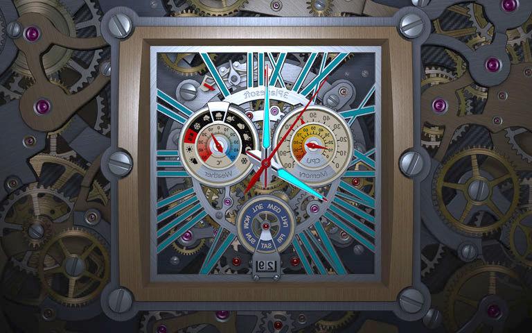 Free Fall Desktop Wallpaper For Mac Skeleton Clock 3d Screensaver Download Animated 3d