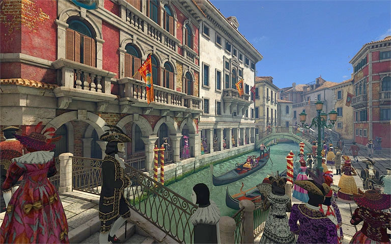 Animated Fall Wallpaper Venice Carnival 3d Screensaver Download Animated 3d