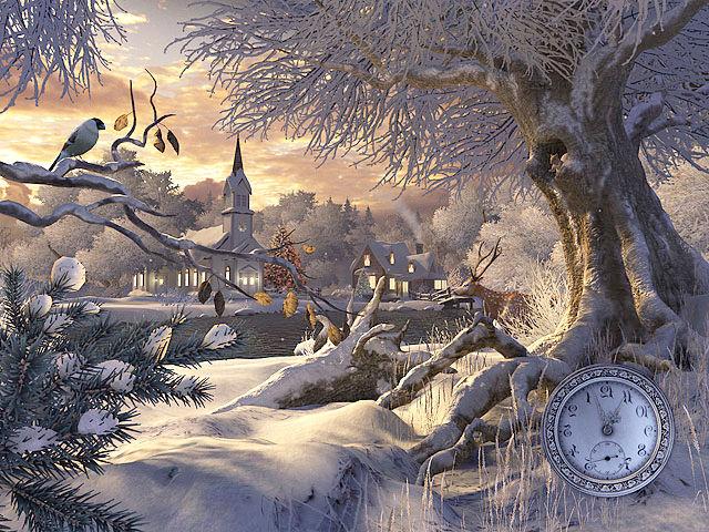 Fall Fairy Wallpaper Winter Wonderland 3d Screensaver Download Animated 3d