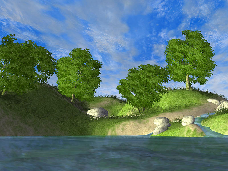 Fall Animated Wallpaper Windows 7 Forest Lake 3d Screensaver Download Animated 3d Screensaver