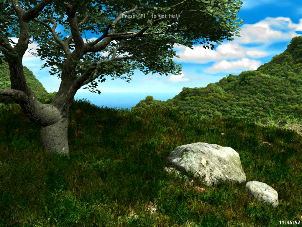 Fall Leaves Hd Desktop Wallpaper Living Landscape Screensaver Download Animated 3d