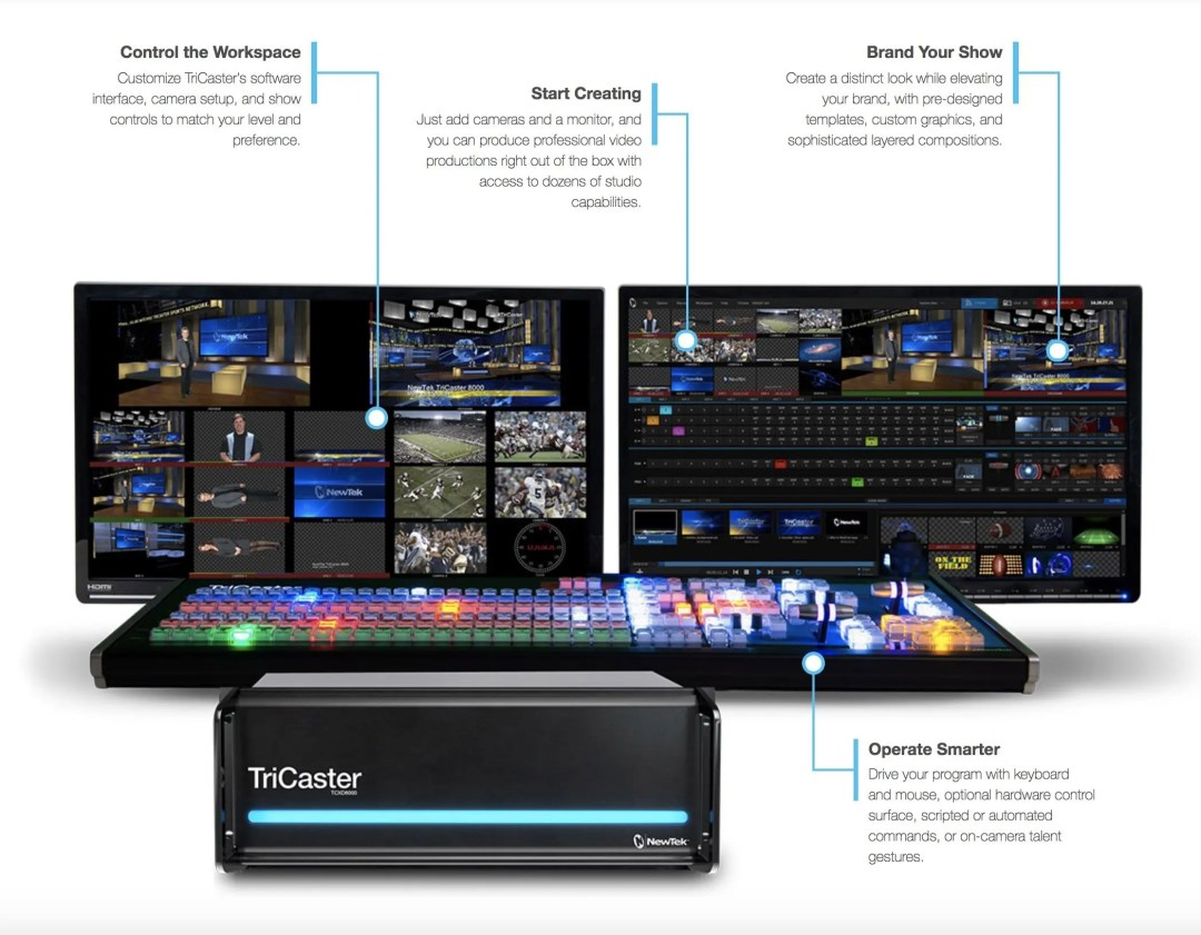 Newtek Tricaster Systems