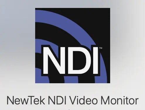 NewTek NDI Video Monitor