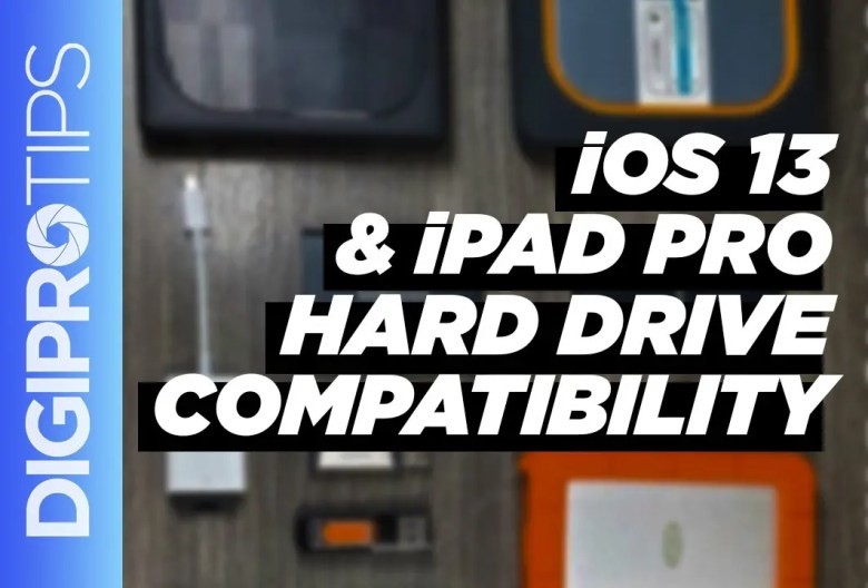 iOS 13 & iPad Pro Hard Drive Compatibility
