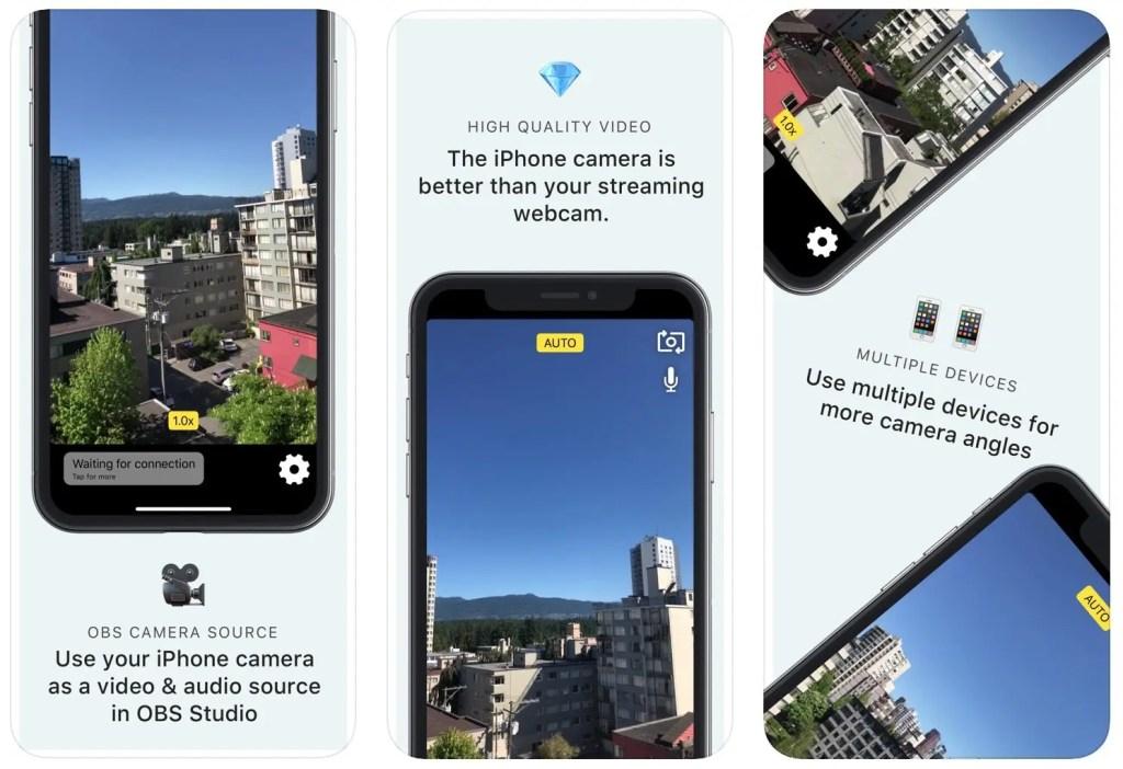 NDI Camera for OBS App