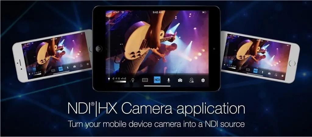NDI|HX Camera App