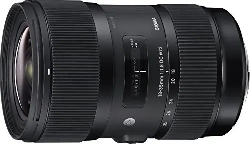 18-35mm Sigma f1.8 DC HSM Art Lens
