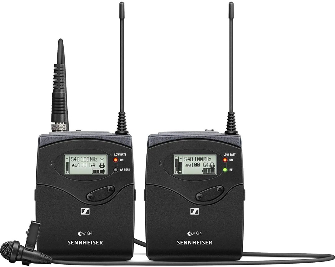 Sennheiser EW 112P G4 Lavalier Microphones