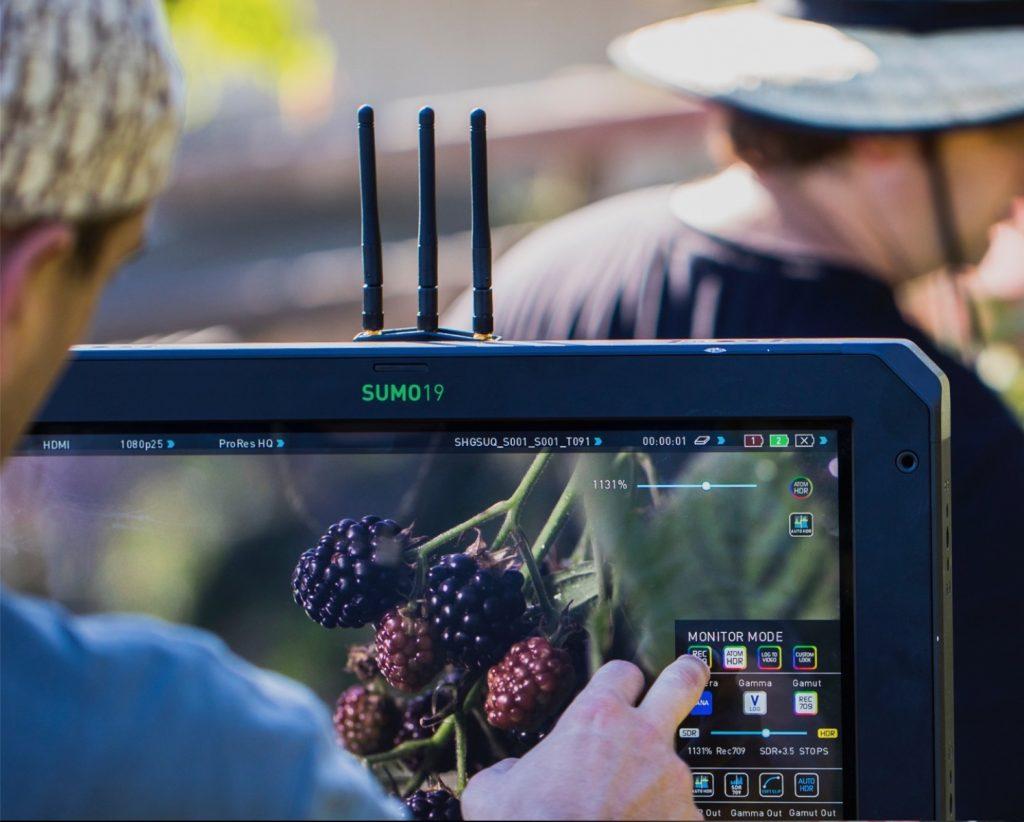 Atomos Ninja 5 External Camera Screen