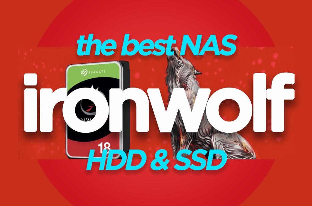 Best NAS HDD IronWolf