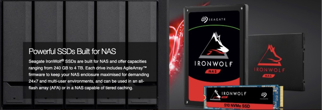 IronWolf Drives - Best SSD for NAS