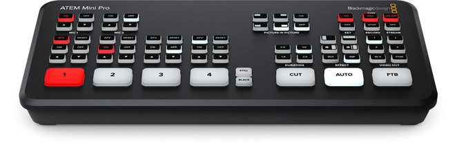 ATEM Mini Pro - Blackmagic video switcher