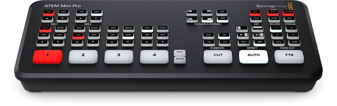 ATEM-Mini-Pro - video production switcher