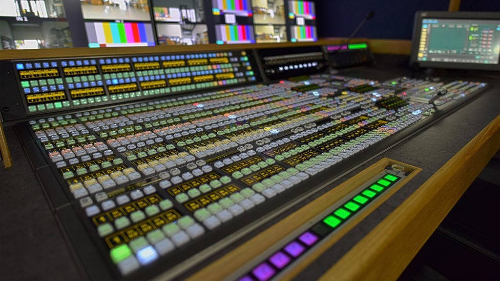 Studio Gallery Vision Mixing Desk - live video switcher