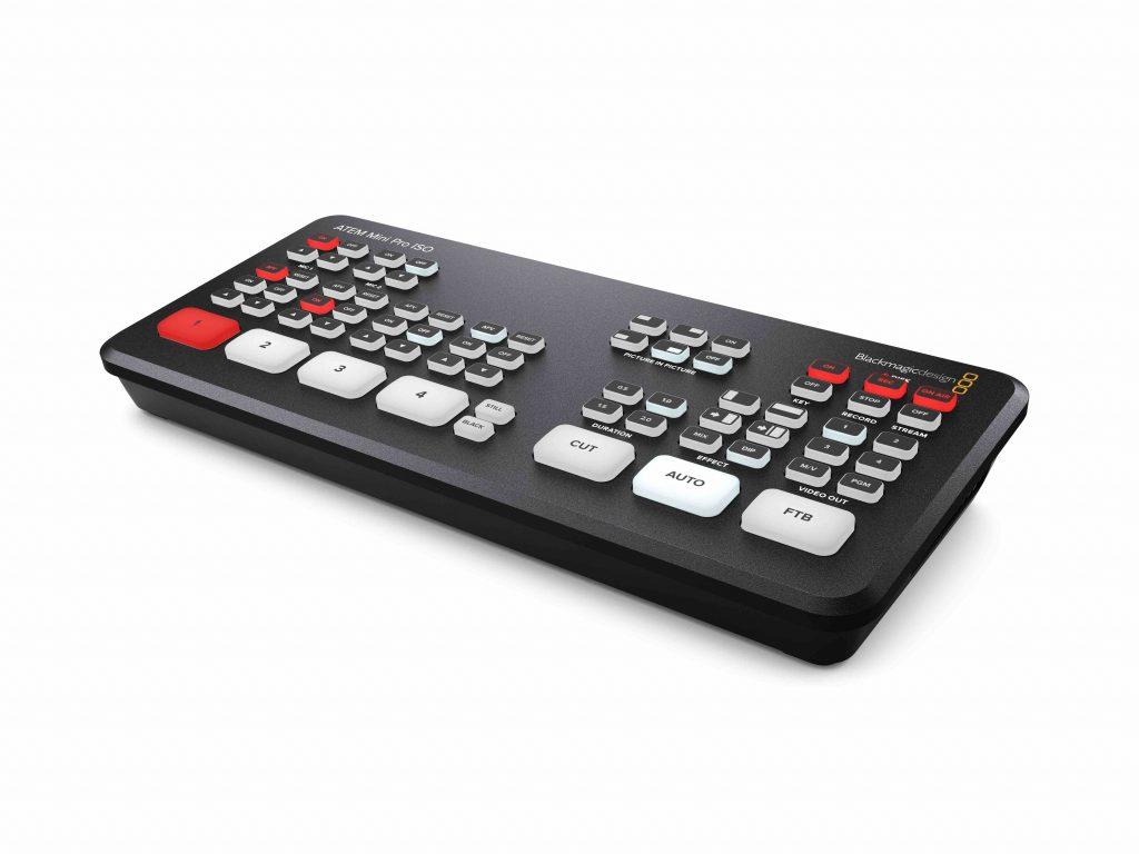ATEM Mini Pro ISO - video production switcher