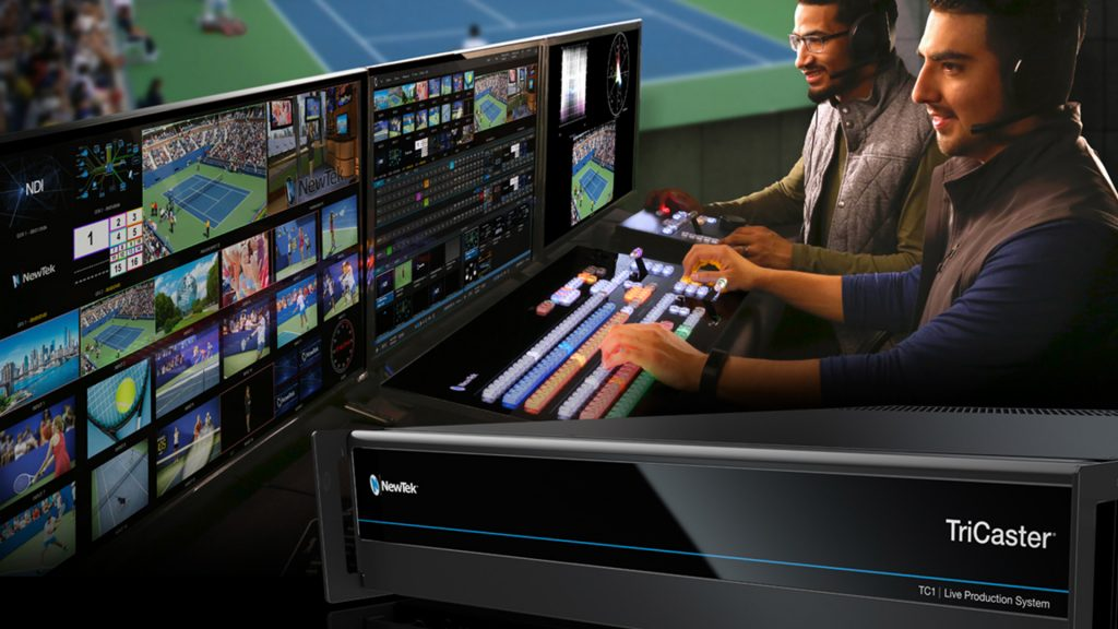 Newtek tricaster best video switcher for streaming