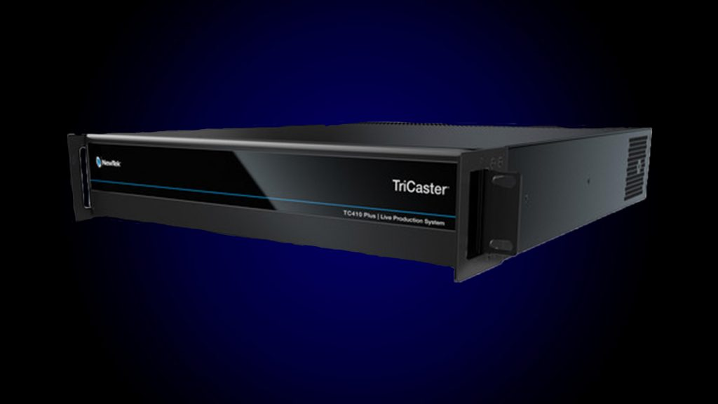 tc410 plus best video switcher for live streaming