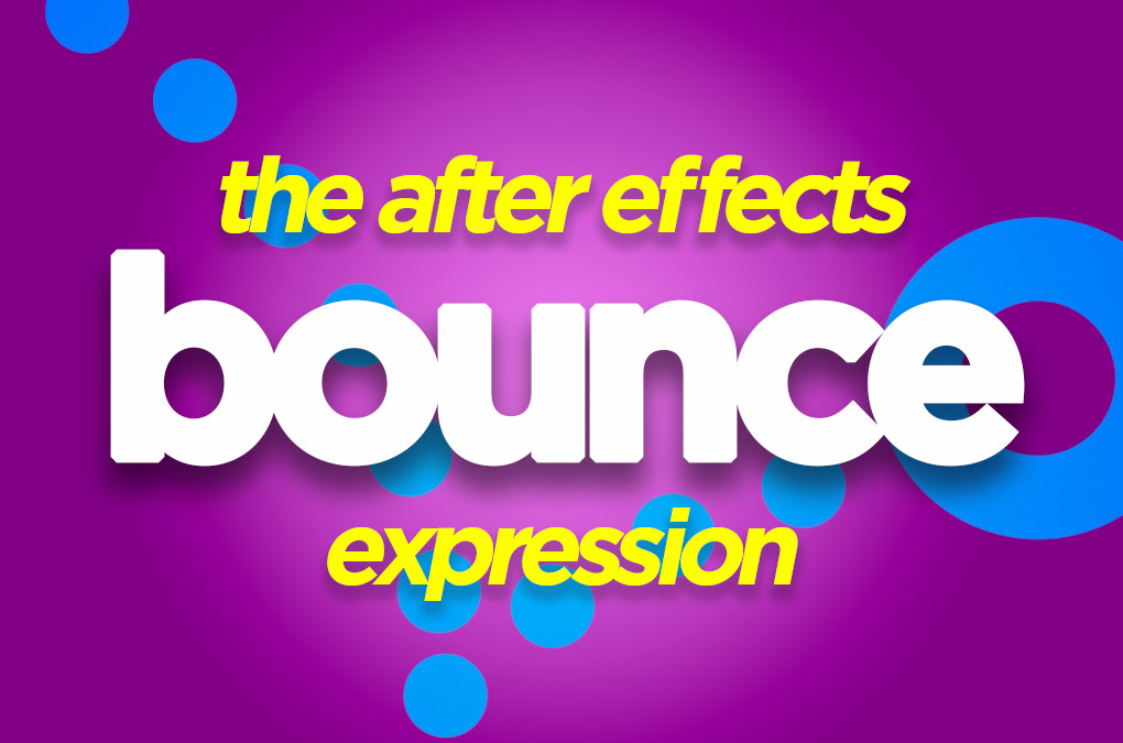 after effects bounce expression