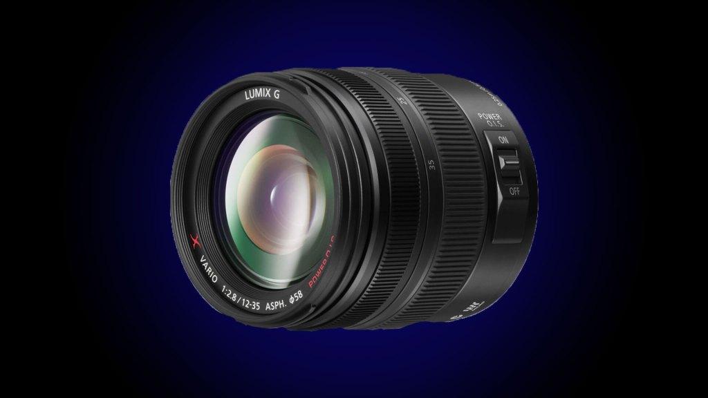 Panasonic Lumix G X Vario 12-35mm f/2.8 II ASPH - best lens for blackmagic studio camera