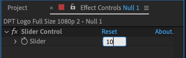 Slider control value - Wiggle Expression After Effects