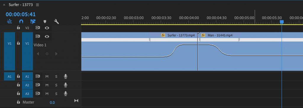 Premiere Pro Speed Ramp Transition